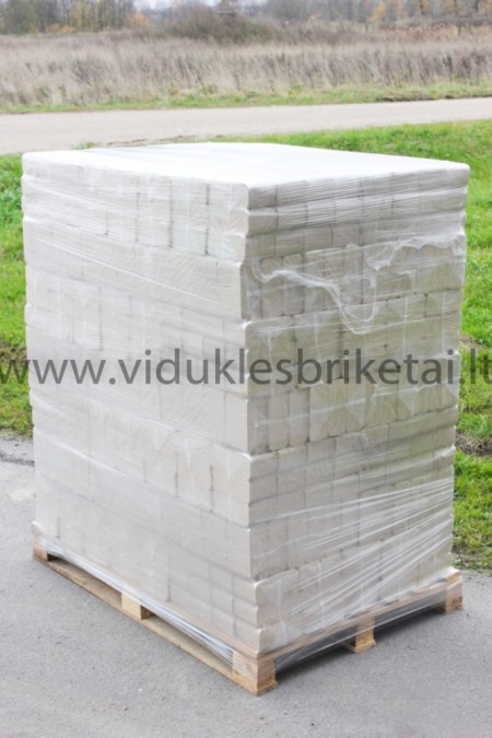 BERŽO BRIKETAI / 960kg paletė